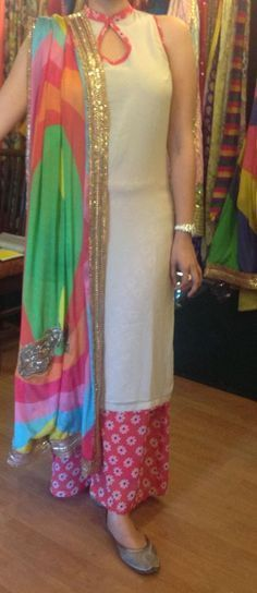 Designer Boutiques in Jalandhar,Punjab,India Neck Designs For Suits, Dress Neck Designs, Kurti Neck Designs, Blouse Designs, Punjabi Suit Neck Designs, Indian Dresses, Indian Outfits, Latest Salwar Kameez Designs, Indian Designer Suits