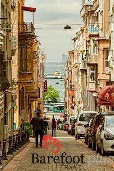 Moda in the Kadikoy district of Istanbul, Turkey