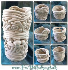 Clay Projects for High School | Junior High Clay Projects