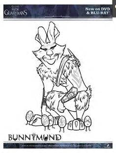 rise of the guardians coloring pages   printable coloring page