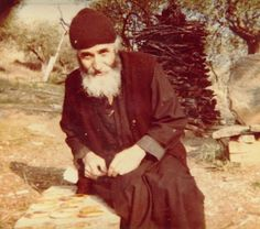 """""""God, sometimes, when a person does not understand with the good, gives him a trial, to recover. If there was not a little pain, sickness, etc., people would become beasts, and would not approach God at all."""" - Elder Paisios"""