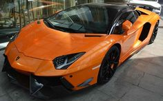 2013 DMC Lamborghini Aventador Roadster SV: 6.5 Liter V12 with 700 Horsepower. 0 to 60 mph in 3.0 seconds. Top Speed of 217 mph.
