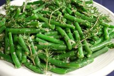 Summer savory pairs with green beans the way basil pairs with tomatoes. -- See recipe Planting Green Beans, Growing Green Beans, Growing Greens, Winter Savory, Summer Savory, Runner Beans, Grow Your Own Food, Vegan Recipes, Healthy Eating