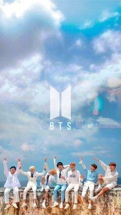 Bangtan❤ Can't tell what's more beautiful the sky or BTS ☁ Foto Bts, Bts Photo, Bts Suga, Bts Bangtan Boy, Jikook, Namjoon, Hoseok, Bts Wallpaper, Iphone Wallpaper