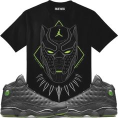 601ab594582313 Jordan 13 Altitude Sneaker Tee Shirt to match made by Original Rufnek  Clothing is available onour online store.