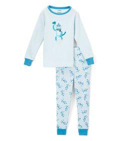 Blue Monkey Blue Pajamas - Infant Toddler & Boys