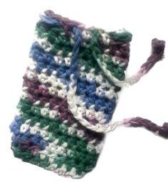 Soapsaver Bag Drawstring Beauty Shower Bath Soap Pouch Crochet Handmade