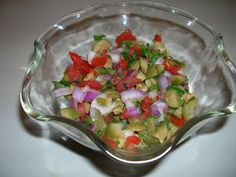 Tomato and Green Olive Salsa