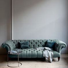 I would love this in a royal purple -The Buchanan Sofa - Unique Modern Furniture - Dot & Bo Apartment Furniture, Sofa Furniture, Furniture Design, Furniture Removal, Street Furniture, Furniture Layout, Furniture Stores, Pallet Furniture, Kids Furniture