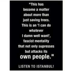LISTEN TO ISTANBUL! #occupygezi