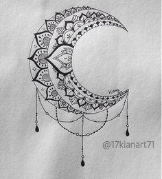 B&W Moon Mandala Design  #art #creative #drawing #mandala #moon #zentangle #tattoo#young_artists_help#heymandalas#mandala_sharing#beautiful_mandalas#doodlegallery#mandaladoodles#gorgeousmandala#blxckmandalas#zentanglemandalalove#zentanglelove#art_4share#hearttangles#learnzentangle