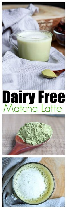 THE EASIEST Dairy Free Matcha Latte! This drink has quickly become my favorite afternoon pick me up. Plus, I get to save tons of money by making my own at home. Learn how you can too!! Vegan and Gluten Free!