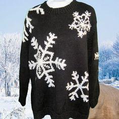 Big Butt Snowflake Sweater