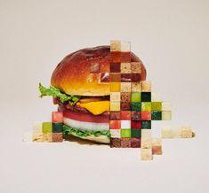Discover the colorful world of art director Yuni Yoshida. Yuni Yoshida is a Japanese graphic designer and art director who's best known for a colorful Food Design, Design Set, Food Poster Design, Beste Burger, Journal Du Design, E Mc2, Illustrator, Japanese Artists, Grafik Design