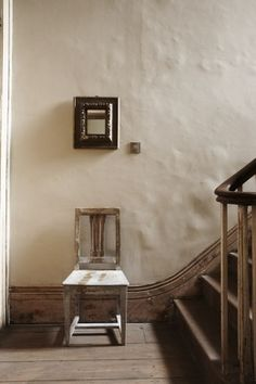 chair by the stair