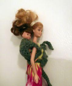 Barefoot Buttercup: Barbie Crochet Mei Tai Pattern