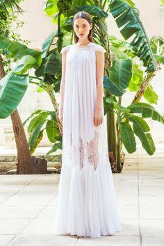 Свадебное платье Christos Costarellos (Bridal Fall 2015)