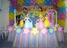 Festa de aniversário das Princesas | Aventurina