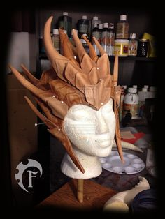 Frost Drake Crown WIP by Feral-Workshop on DeviantArt