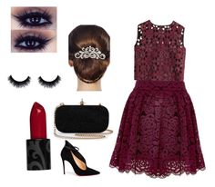 """Party"" by smileyface3101 on Polyvore featuring Alberta Ferretti, Christian Louboutin and 16 Braunton"