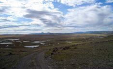 Ukok plošina, Altaj, šíber, kde boli objavené Princess Ukok a dvaja bojovníci