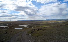 The Ukok plateau, Altai, Siberi, where Princess Ukok and two warriors were discovered