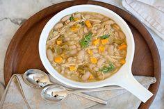 Zuppa con zucca e fagioli