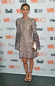 Estilo Natalie Portman, Natalie Portman Style, Lanvin, Toronto, National Festival, Film Festival, Red Carpet, Glamour, Actresses