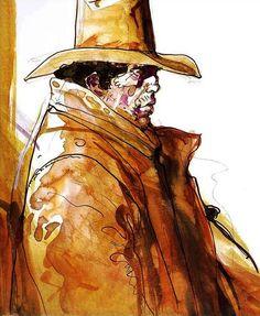 Jean Giraud, Sitting Bull, Western Comics, Western Art, Blade Runner, Classic Comics, Fun Comics, French Artists, Comic Artist