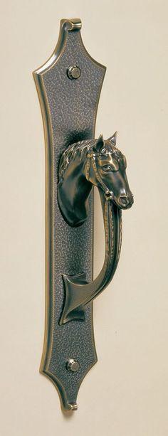 Equestrian door knob  equestrian decorating  #equestrian