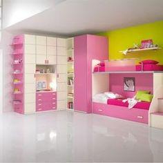 Girls Bedroom Design,