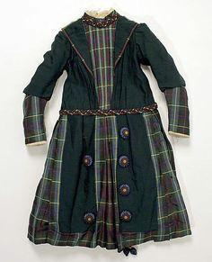 Girl's Dress 1880s The Metropolitan Museum of Art