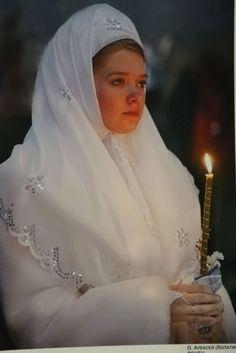 velo de novia Rusa
