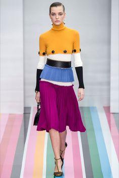Sfilata Salvatore Ferragamo Milano - Collezioni Autunno Inverno 2016-17 - Vogue