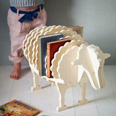 sheep book holder