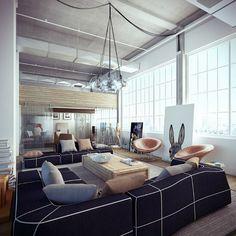 Loft par le studio darchitecture Ando-Studio