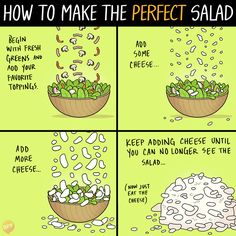 How to Make the Perfect Salad - by Books of Adam