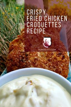 Looking for a delicious fried chicken croquettes recipe for a good dinner? This chicken recipe has a savory combination of vegetables and meat turned into croquettes — which would be a perfect lunch and dinner for the whole family. Serve this fried chicken recipe with lower tannin-level red wines and rich white wines. #recipesforchicken #bakedchickenrecipes #amazingchickenrecipe #mincedchickenrecipes #pairingwineandfood #foodandrecipes Potluck Dinner, Sunday Dinner Recipes, Best Dinner Recipes, Spring Recipes, Brunch Recipes, Dinner Ideas, Minced Chicken Recipes, Baked Chicken Recipes, Meat Recipes
