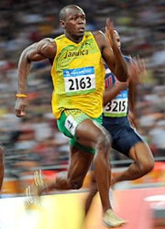 Ganz ohne Cape und trotzdem der schnellste Mann der Welt - Usain Bolt