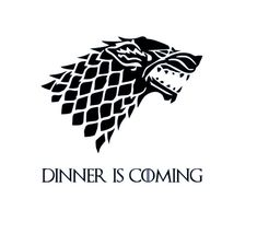 Dinner Is Coming Decal / Game of Thrones Instant Pot Decal / Instant Pot Decal / Crock Pot Decal / by TheBigDipperDesigns on Etsy