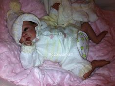 Hand made all-in-one baby set available for a preemie baby.