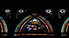 Église Saint-Jean de Montmartre Vitraux de Jac-Galland Litanies de la Vierge Sainte-Marie priez pour nous