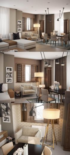 Seven Tips For Getting a Living Room Set - Inda Homes Condo Interior, Grey Interior Design, Living Room Sets, Living Room Designs, Living Spaces, Small Apartments, Interior Architecture, Sweet Home, House Design