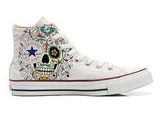 Converse Customized - zapatos personalizados (Producto Artesano) Back Groud Paisley size 42 EU E3AAM5jZxS