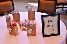 Kids Wedding Reception Bags Wedding Favors Rustic Children Activities for Weddings Gifts for Kids Personalized