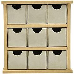 "Beyond The Page MDF Mini Drawers-6""X5.75""X2.25"" - $13 KMart"