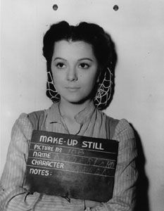 """How did Ann Rutherford - who played Carreen O'Hara - change history and beauty trends? Find out in """"Gone With the Wind...But Not the Eyebrows"""". Vivien Leigh, Scarlett O'Hara"""