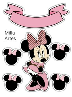 1908 Best Mickey And Minnie Mouse Party Ideas Images In 2018 Brilliant Background Tips Minnie Mouse Stickers, Minnie Mouse Images, Minnie Mouse Cupcake Toppers, Minnie Mouse Birthday Decorations, Bolo Minnie, Baby Boy Decorations, Mickey Minnie Mouse, Minnie Mouse Cake, Unicorn Themed Birthday Party