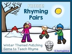Winter Rhyme Game