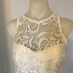 Lovely guipure lace wedding top with cut away armholes and leaf trim. Wedding Dress Separates, Wedding Gowns, Lace Wedding, Informal Weddings, Strapless Corset, Crepe Skirts, Lace Overlay, Dream Dress, Sustainable Fashion